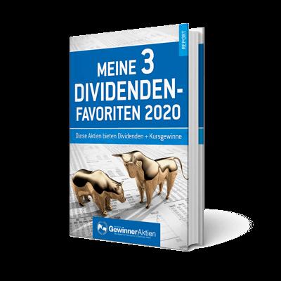 E-Book Meine 3 Dividenden Favoriten 2020
